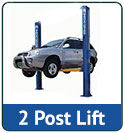 Two post                   automotive lift