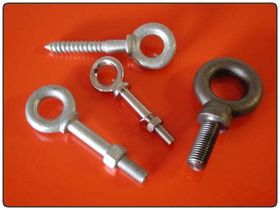 Eye Bolts for Industrial Use in Nova Scotia New Brunswick, PEI, Newfound Labrardor
